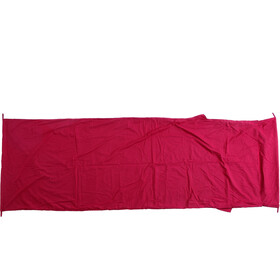 Basic Nature Mixed Sleeping Bag Liner Blanket Shape bordeaux
